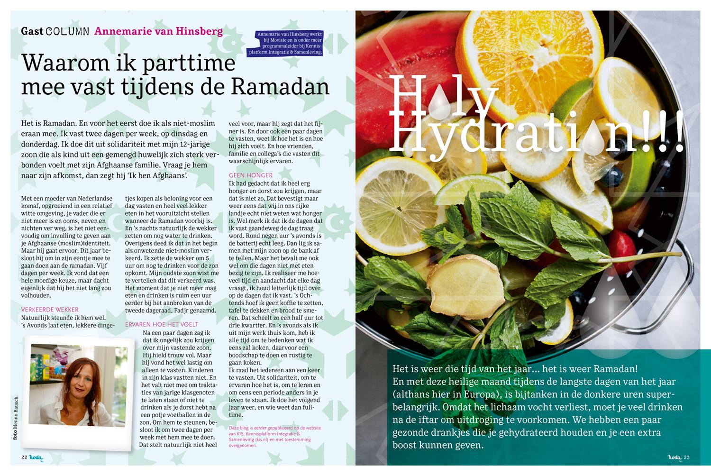 hoda magazine 2018 | binnenwerk Ramadan special