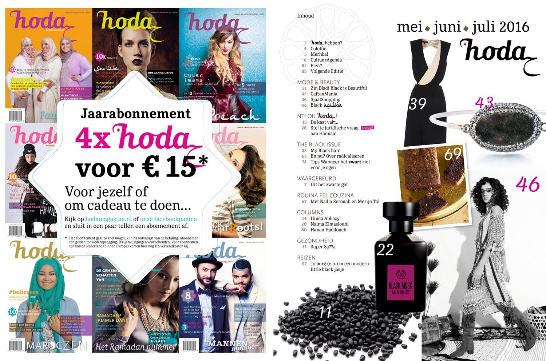 hoda magazine 20 | binnenwerk