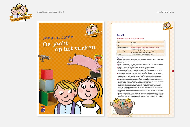 Nederlands Volksbuurtmuseum - Joop en Jopie | uitwerking groep 1, 2 en 3