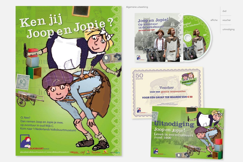 Nederlands Volksbuurtmuseum - Joop en Jopie | uitwerking algemeen
