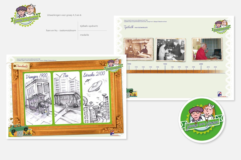Nederlands Volksbuurtmuseum - Joop en Jopie | uitwerking groep 4, 5 en 6